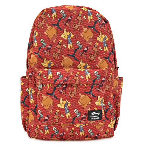 LOUNGEFLY X DISNEY EMPERORS NEW GROOVE NYLON BACKPACK