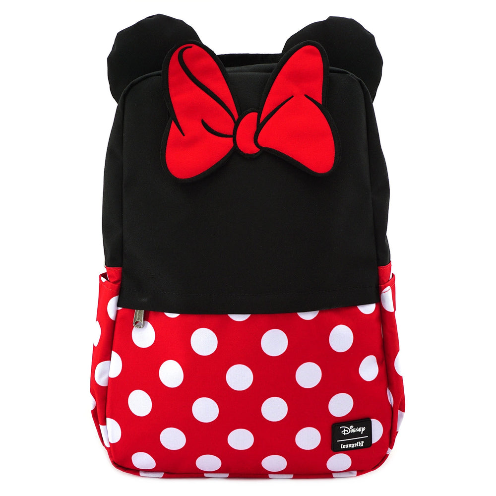 LOUNGEFLY X DISNEY MINNIE MOUSE COSPLAY SQUARE NYLON BACKPACK-zoom