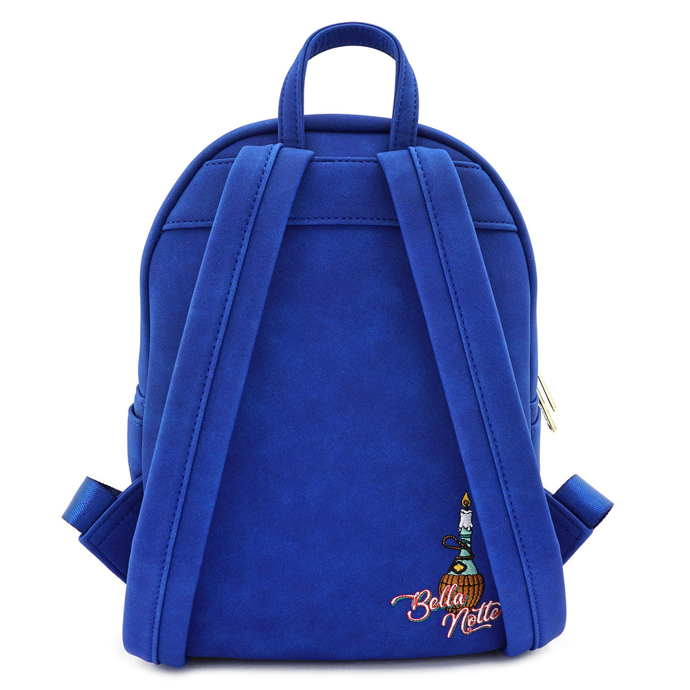 LOUNGEFLY X DISNEY THE LADY AND THE TRAMP MINI BACKPACK-zoom