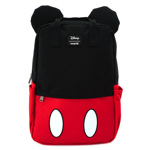 LOUNGEFLY X DISNEY MICKEY MOUSE COSPLAY SQUARE NYLON BACKPACK