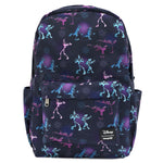 LOUNGEFLY X DISNEY POWERLINE AOP SQUARE BACKPACK