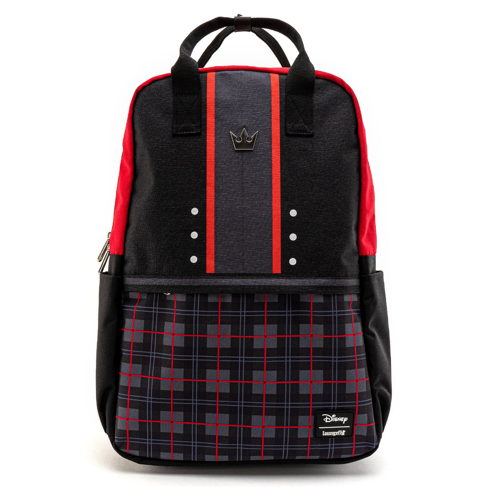 LOUNGEFLY X DISNEY KINGDOM HEARTS SORA SQUARE NYLON BACKPACK-zoom
