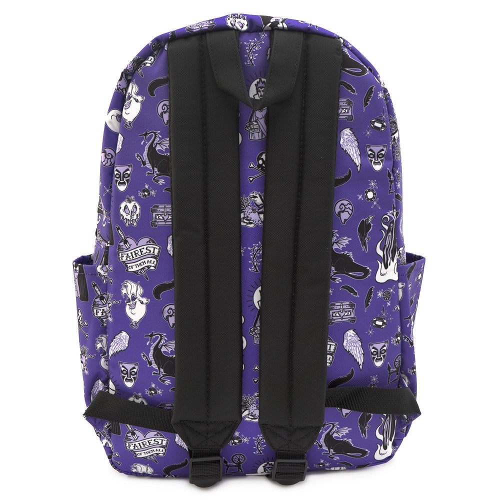 LOUNGEFLY X DISNEY VILLAIN ICON NYLON BACKPACK-zoom