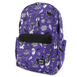 LOUNGEFLY X DISNEY VILLAIN ICON NYLON BACKPACK