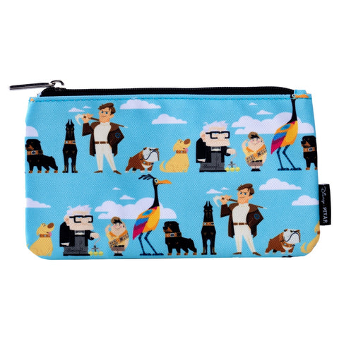 Pixar Up Character Nylon Pouch