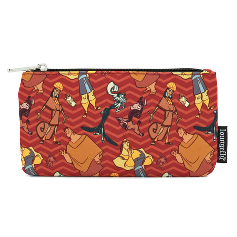 LOUNGEFLY X DISNEY EMPERORS NEW GROOVE NYLON POUCH