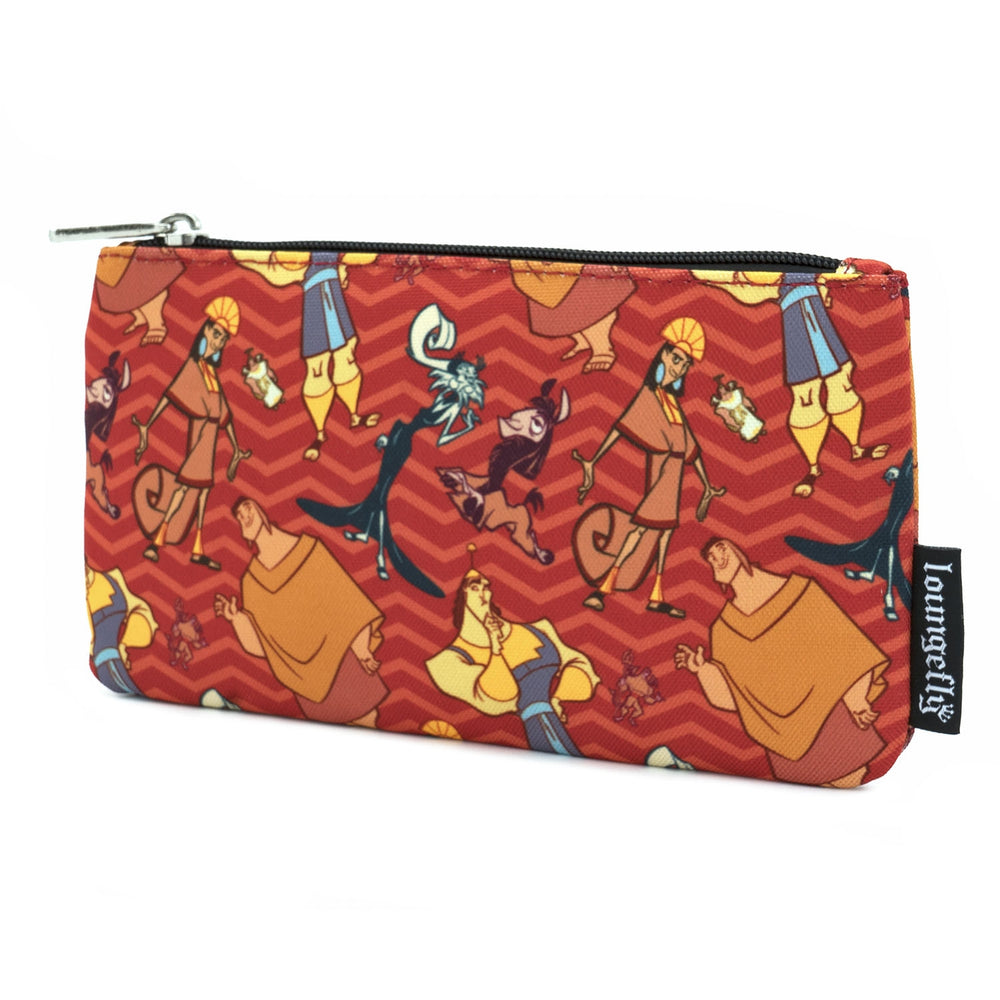 LOUNGEFLY X DISNEY EMPERORS NEW GROOVE NYLON POUCH-zoom