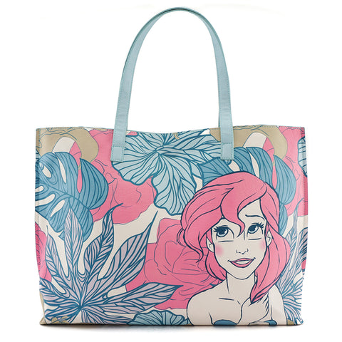 Loungefly x Ariel/Leaves Tote Bag