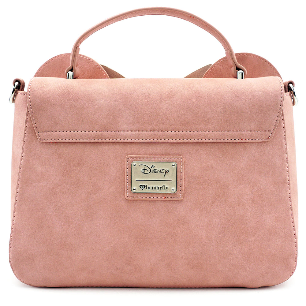 Loungefly x Minnie Ears & Bow Pink Crossbody Bag-zoom