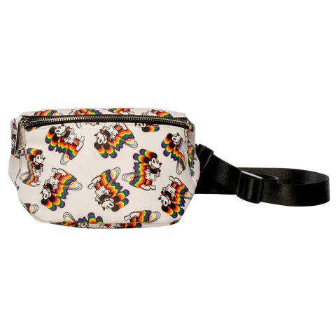 Loungefly x Mickey Rainbow Print Fanny Pack