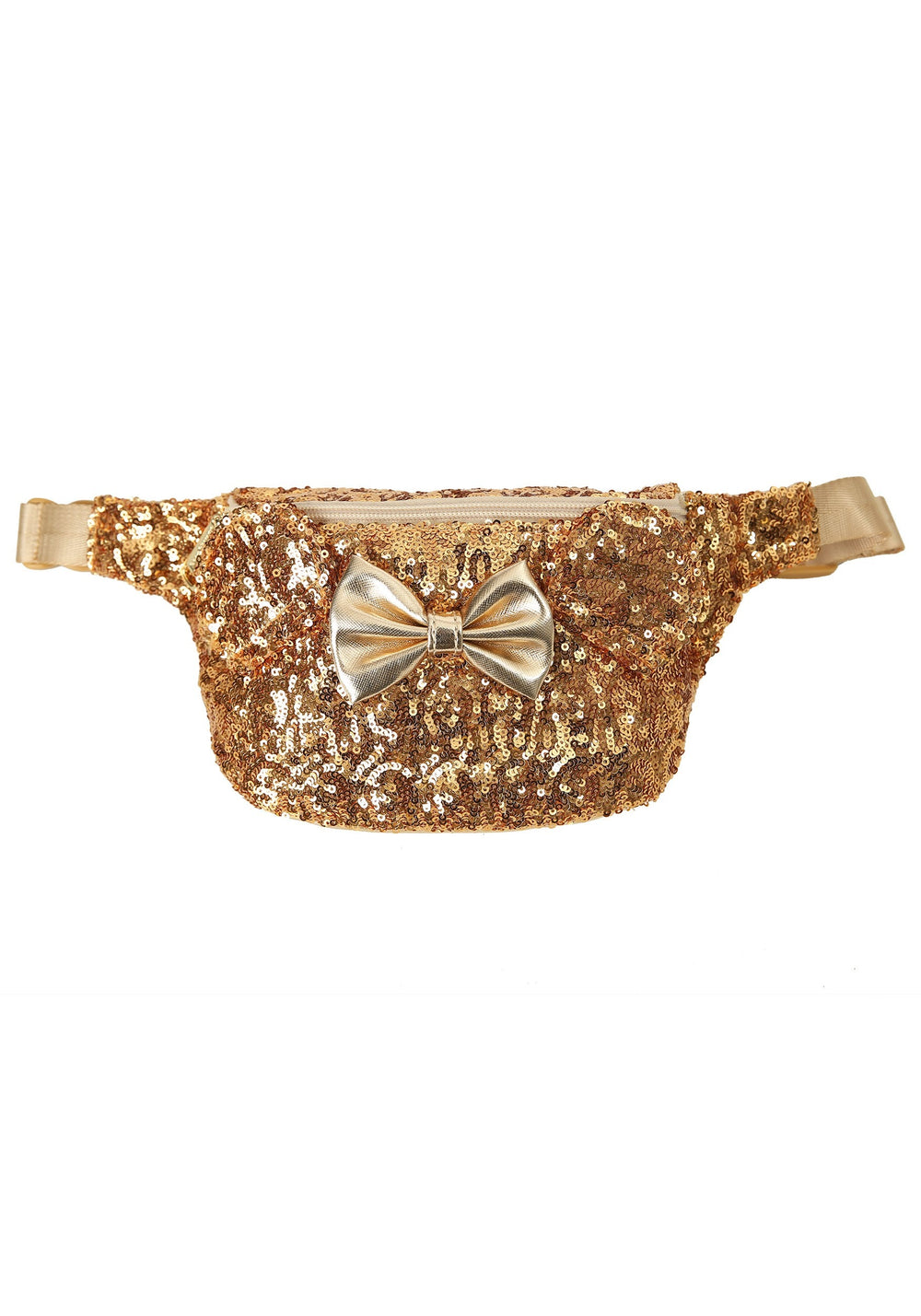 Loungefly X Disney Minnie Mouse Sequin Bow Fanny Pack-zoom
