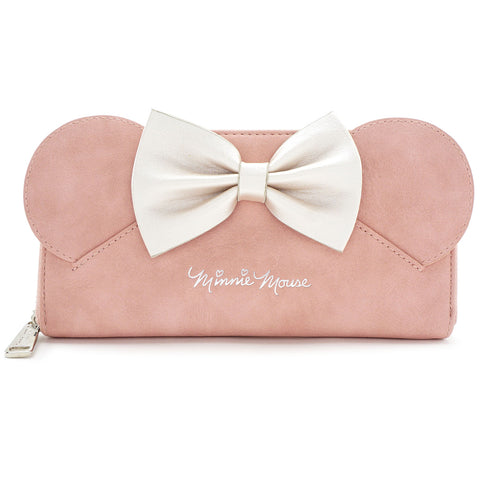 Loungefly x Minnie Ears & Bow Pink Wallet
