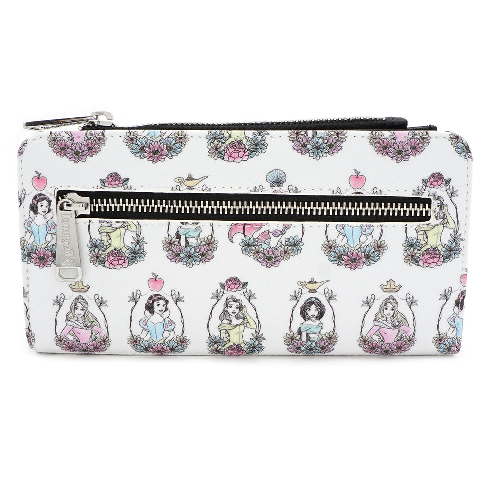 Loungefly x Disney Princesses Print Wallet-zoom