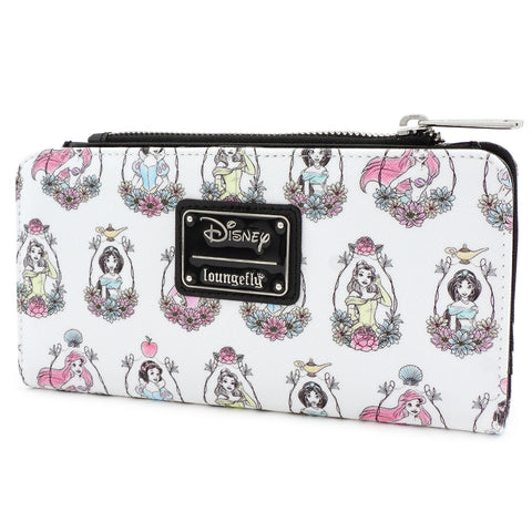 Loungefly x Disney Princesses Print Wallet