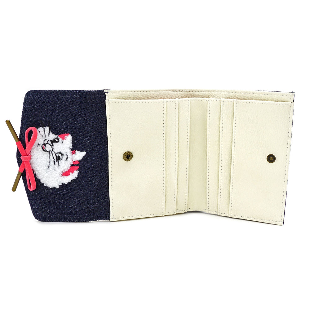 Disney Marie Denim Wallet-zoom