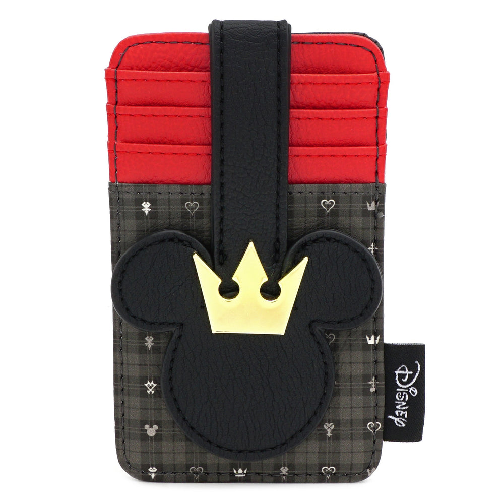 LOUNGEFLY X DISNEY KINGDOM HEARTS MICKEY CARDHOLDER-zoom