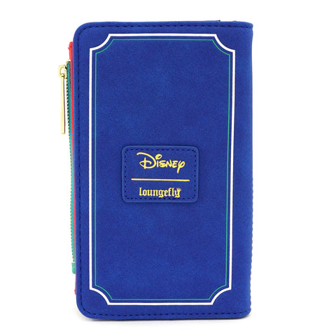LOUNGEFLY X DISNEY LADY AND THE TRAMP TONY'S MENU BI-FOLD WALLET