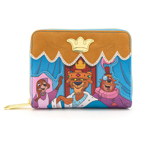 LOUNGEFLY X DISNEY'S ROBIN HOOD ARCHERY TOURNAMENT WALLET