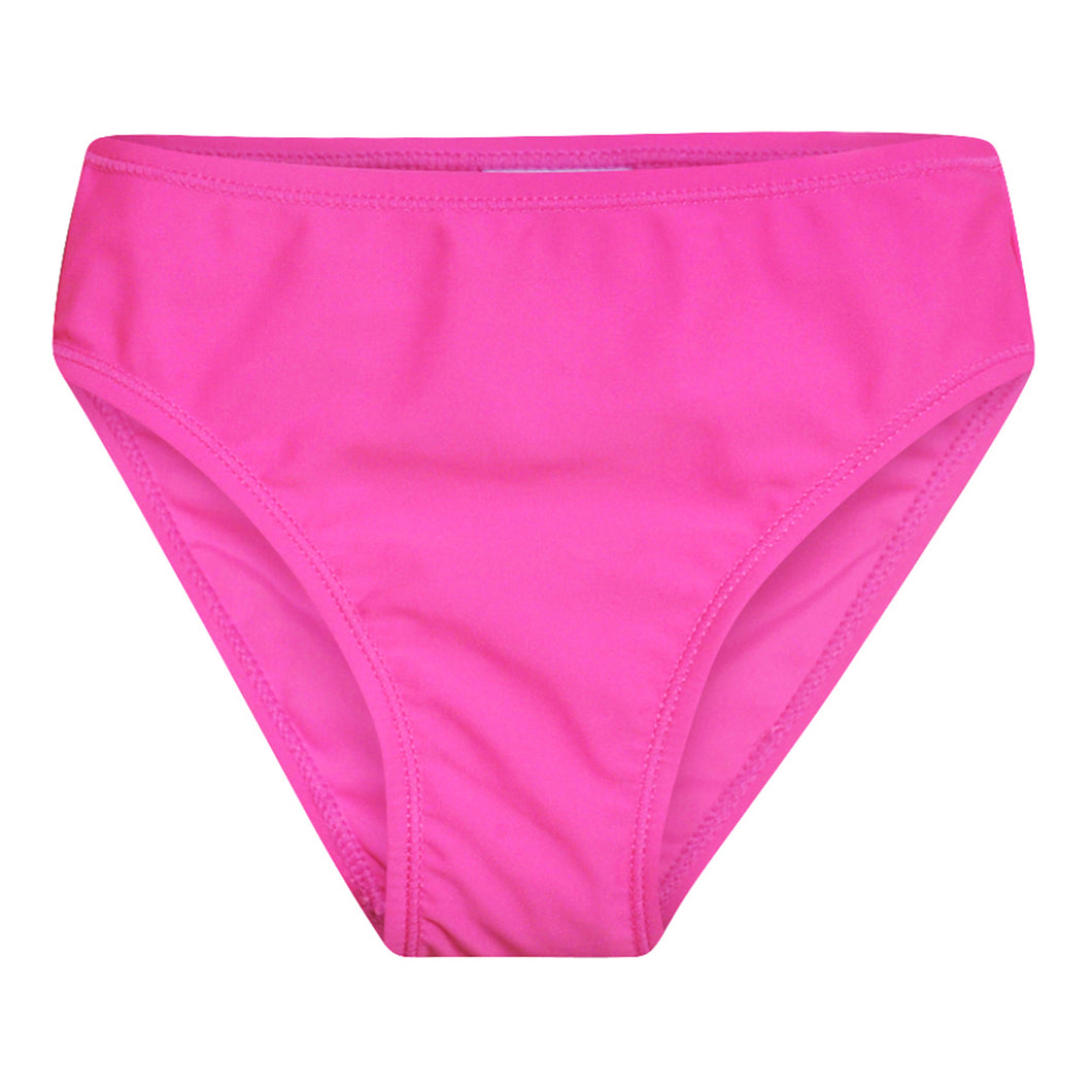 UPF 50+ Girls Swim Bottom | Azalea Pink