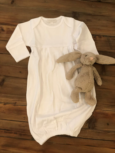 Magnolia Baby - Essentials White Gown