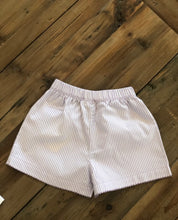 Load image into Gallery viewer, Baby Lugi - Purple and White Stripe Shorts