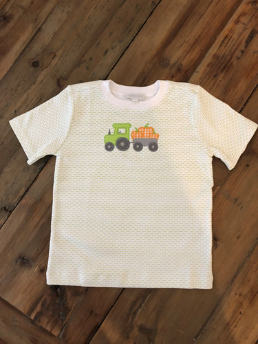 Magnolia Baby - Pumpkin and Tractor Tee Shirt
