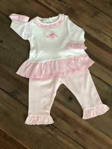 Magnolia Baby - Tiny Cup of Tea Outfit