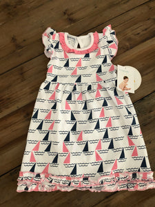 Magnolia Baby - Sailboat Dress