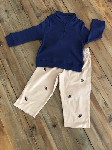 Baby Lugi - Football Corduroy Pants