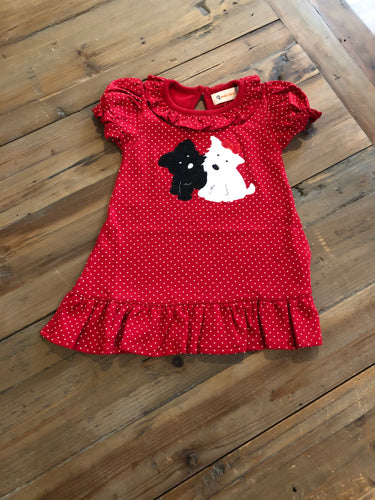Scottie Red Dress
