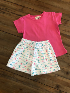 Baby Lugi - Seashell Shirt and Shorts
