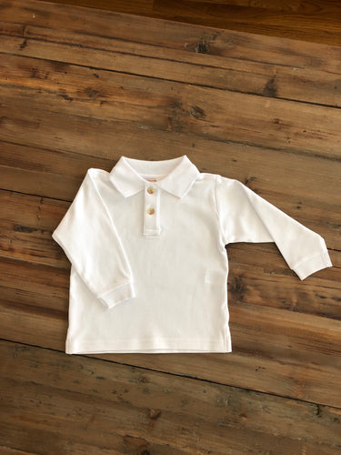 Baby Lugi - White Polo
