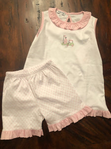 Magnolia Baby - Putting Around Sleeveless Short Set
