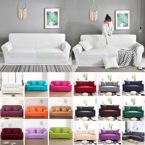 Happy Sofa Cover™ - Plain Color