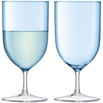 Hint Water/Wine Turquoise Set/2