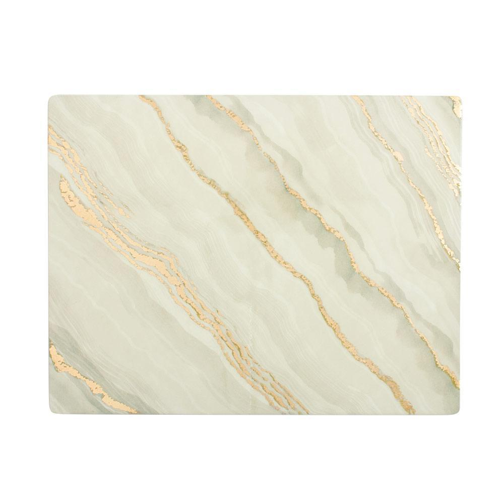 Marble Grey Lacquer Placemat