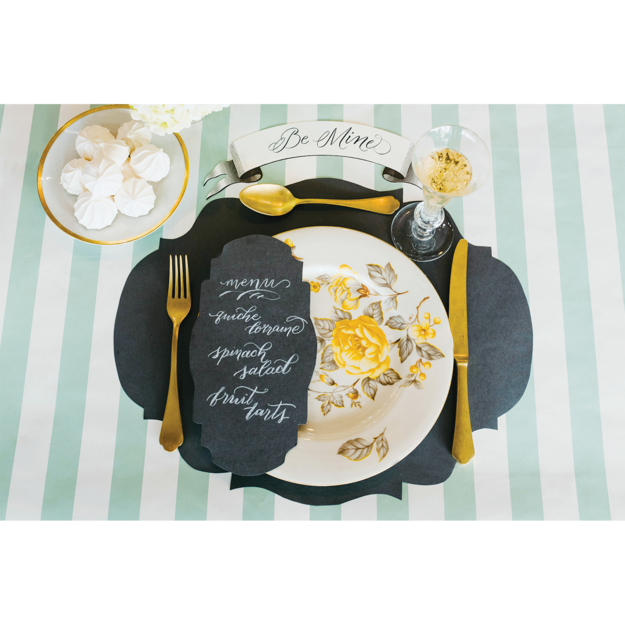 Grey French Frame Placemat