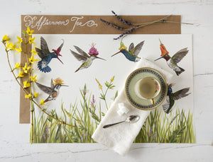 Hummingbirds Placemat