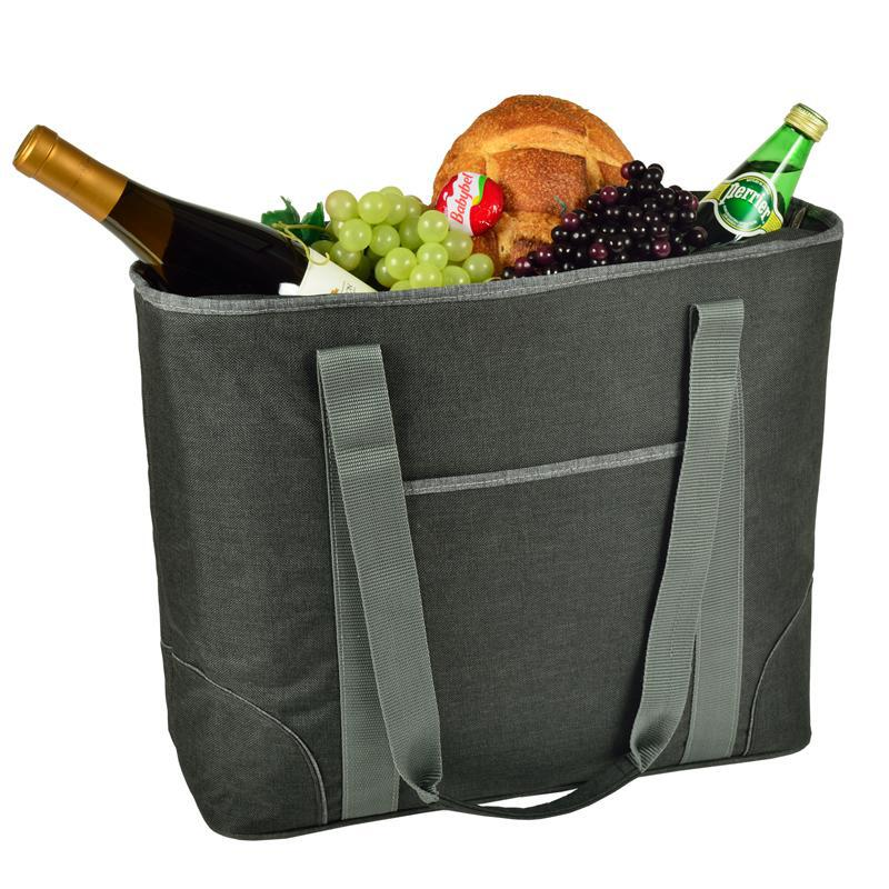 Charcoal XL Foldable Cooler Tote