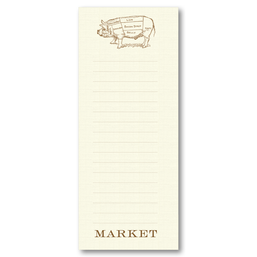 Butcher's Pig List Pad