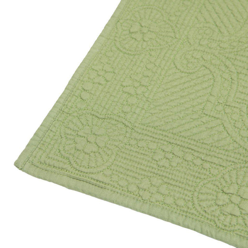 Villa Green Quilted Placemat