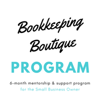 Bookkeeping Boutique Program