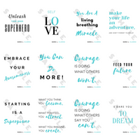 Wall Art: 12 Empowering Quotes
