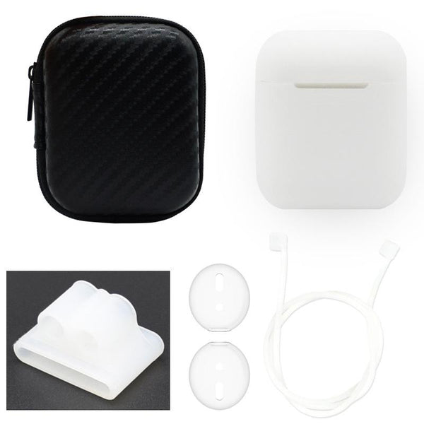 Airpods Case Wireless Bluetooth Headset Cover Ear Plug Storage Protection Box