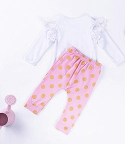 Baby Clothing Sets Baby Love Onsie and Pants 2pc set