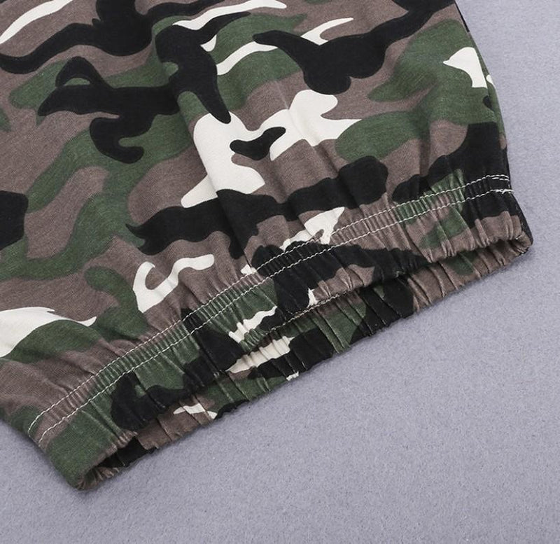 Baby Clothing Sets BOOM Camo Pants + Top set of 2 Baby Outfits