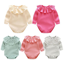 Baby Clothing Sets Newborn Baby Girl Long Sleeves Romper