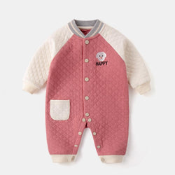 Baby Clothing Sets Powder / 73cm Baby one-piece spring and autumn air cotton one-piece