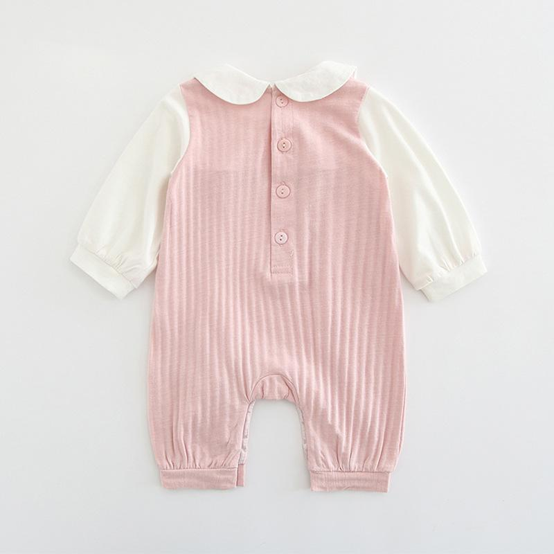 Baby Rompers Baby embroidered jumpsuit