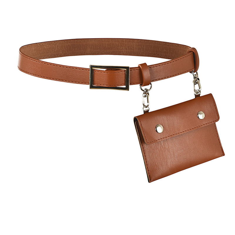 Bags brown / 60cm below Pack fashion belt